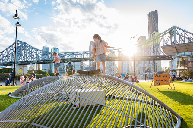 People + Artist + Place - Public art activation at Howard Smith Warf