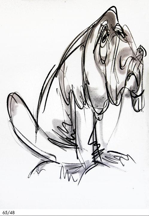 chien - REF : CH-77-15
