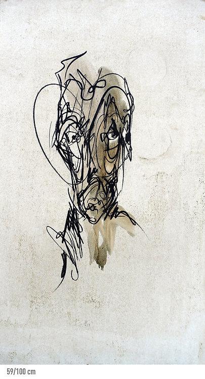 portrait - REF : VI-36-16