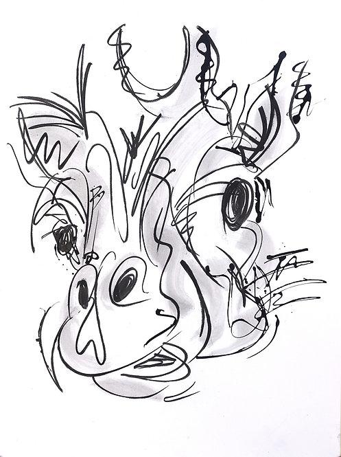 girafe - REF : GIRA-1-17
