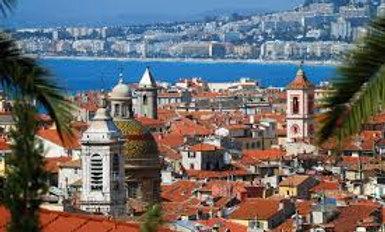 Средиземноморская сказка +Париж +отдых в Ницце