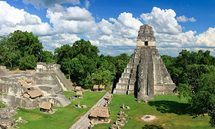 Guatemala with Tikal, Atitlán and Antigua