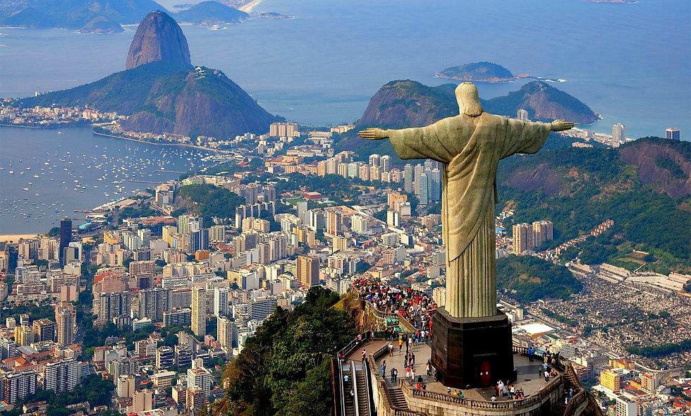 Бразилия- пестрые краски.. Новый 2021 год!!!