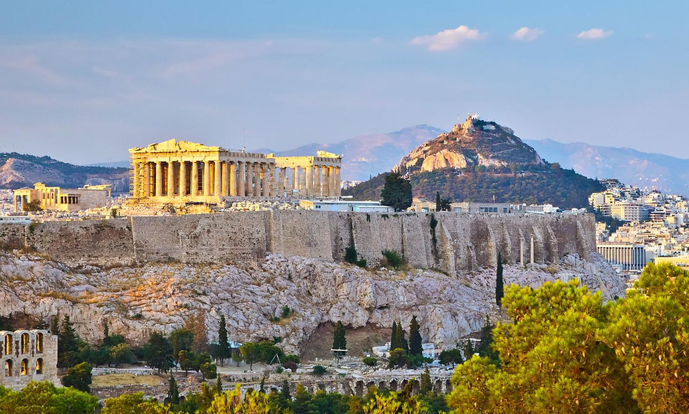 Греция: Среди мифов, легенд и героев