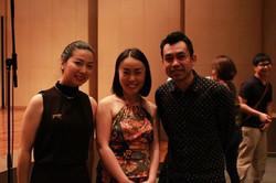 Pod Thanachai Ujjin and Shoko Sakai