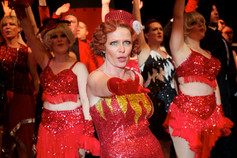 Rachel Beacham in Anything Goes, Stratford Musical Theatre Company, Stratford ArtsHouse, David Fawbert Photography