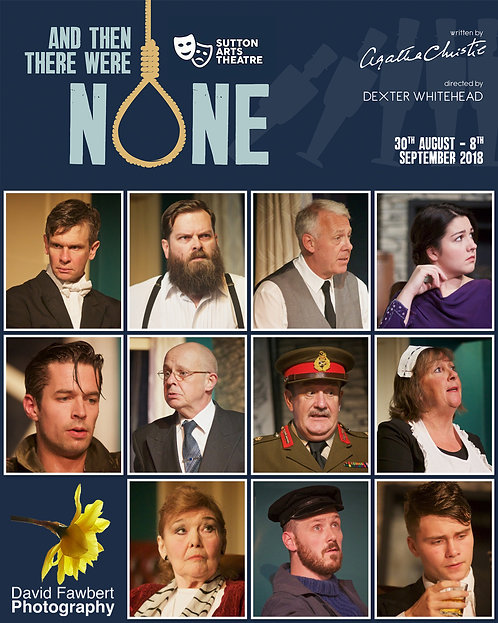 And Then There Were None Dress Rehearsal Image Disc