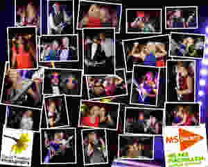 Candid photography of guests having fun at the MS Society and MacMillan Fundraising Ball, organised by Pip Sparks, Tina Strath and Sarah Simon - Team Riding on Gin and Coffee -  at the Royal Leamington Spa Tennis Court Club, as part of the challenge to ride from Lands End to John o'Groats with Deloitte Ride Britain