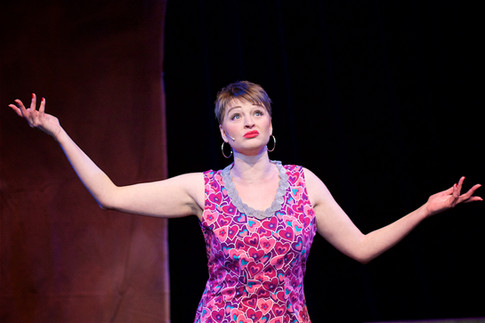 Nichola Willetts in Sweet Charity, Knowle Musical Society, The Core Theatre Solihull, David Fawbert Photography