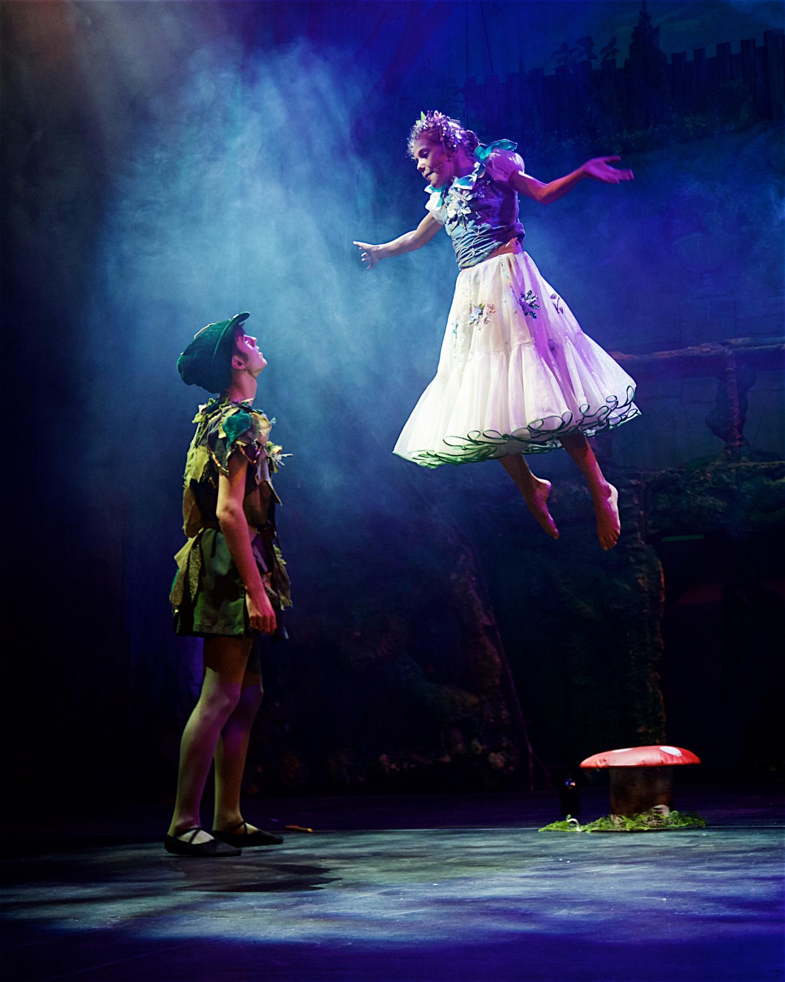 Elliott Hanna as Peter Pan