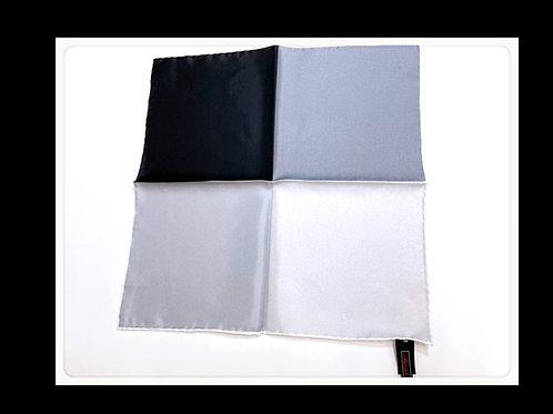 4色パネル  ポケットチーフ シルク100% ドイツ製