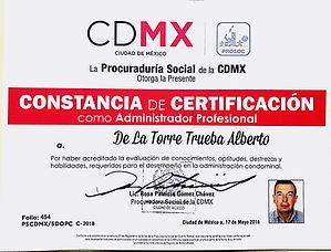 Certificación_Administrador_Profesional, Administración de Condominios
