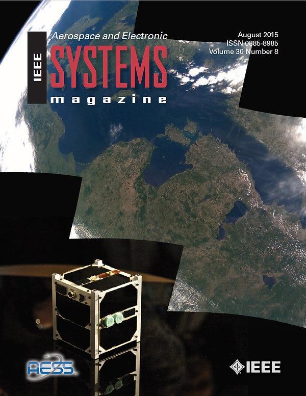 ESTCube-1 on IEEE Aerospace and Electronics System Magazine