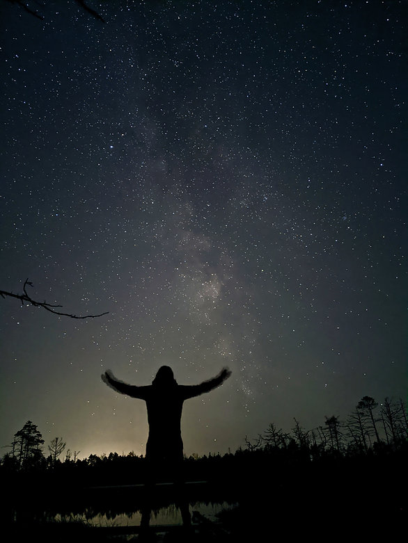 Milky Way as seen from Cena Moorland
