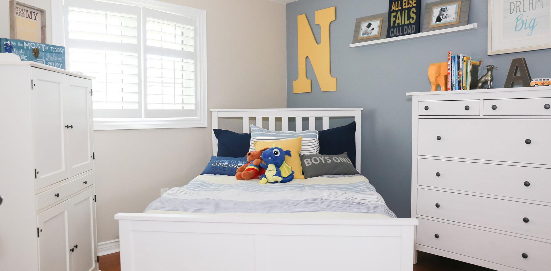 Kid's Bedroom Design, Little Boy's Blue Bedroom