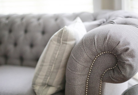 Living Room Design, Classic Neutral Grey