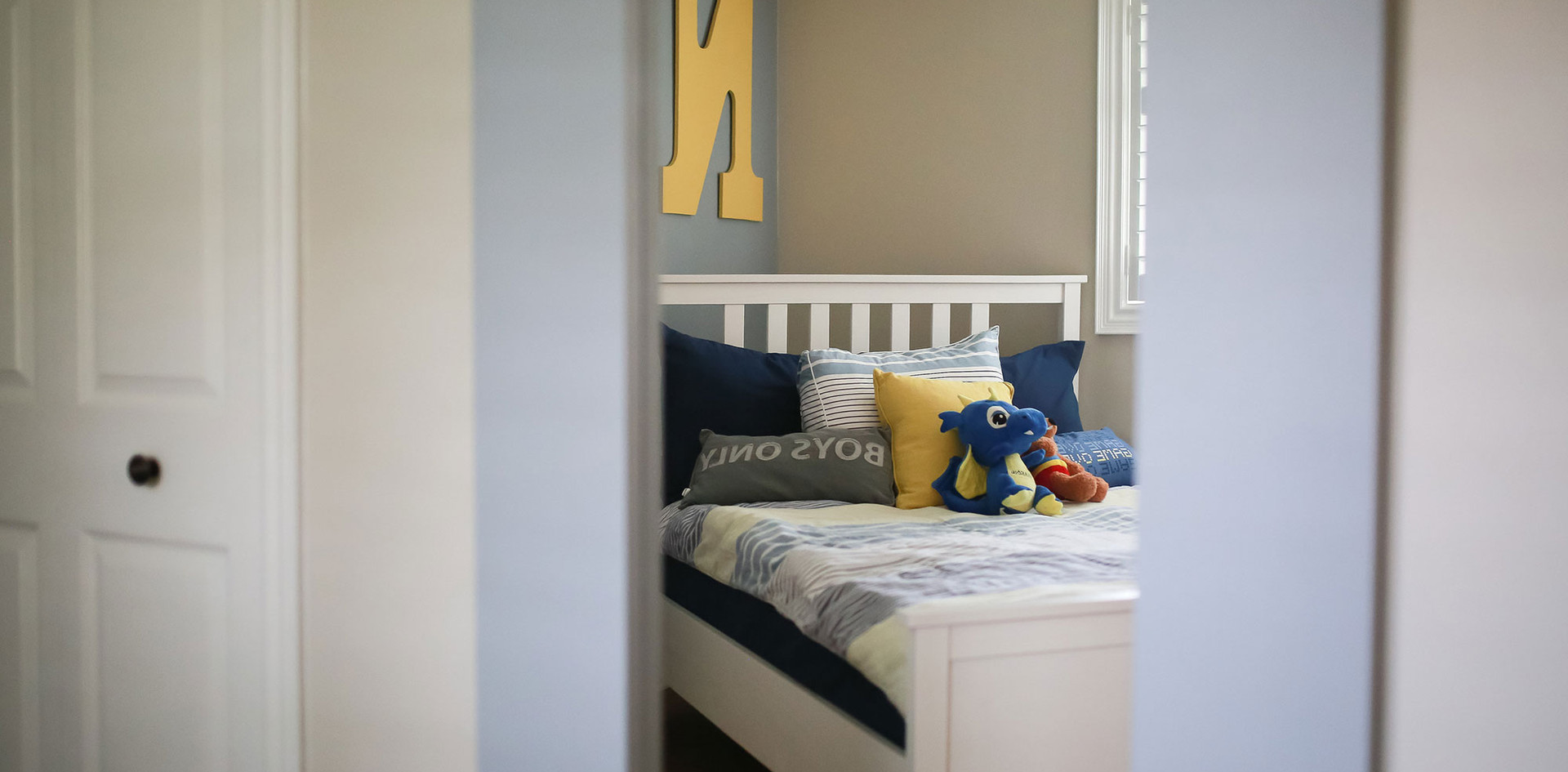 Kid's Bedroom Design, Little Boy's Blue Bedroom