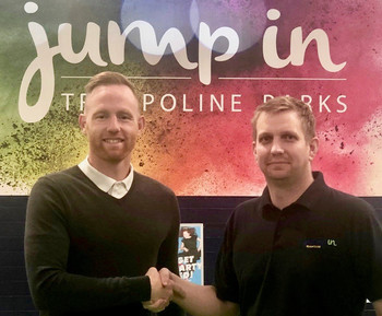 Crossbar and Jump In Shrewsbury team up to form a new community partnership