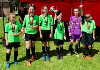 Hundreds of young Shropshire footballers take part in Crossbar Cup