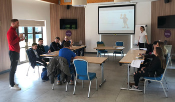 Crossbar offers sports traineeship to school leavers