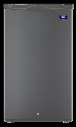 ثلاجة هاس باب واحد 3.2 قدم سلفر HRK105S