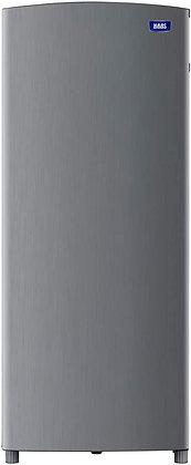ثلاجة بباب واحد، 6.2 قدم مكعب، 176 لتر، مواد متعددة، لون فضي من هاس - HRK109S