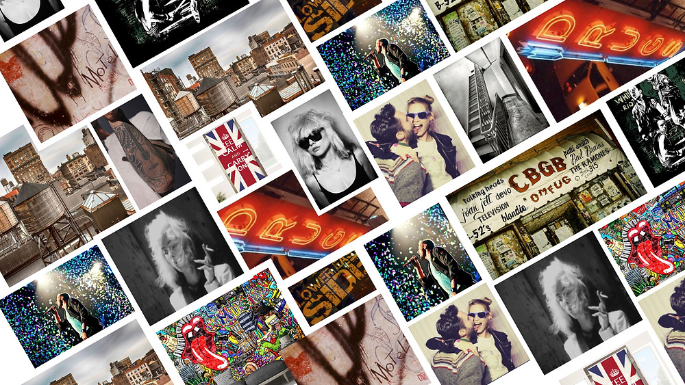 This is one of our mood boards to give you a feel of the world of the film.