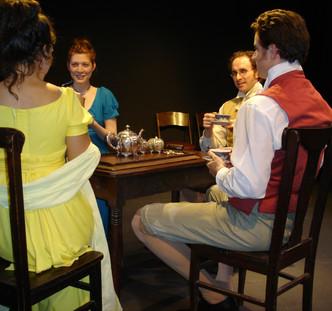 Grasmere written by Kristina Leach, directed by Noel Neeb. Cast: Rachel McKinney, Brent Barnes, Matthew Waterson, Maria Pallas.