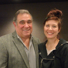 Working with the incomparable Dan Lauria. Childhood dream!