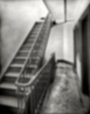 Manhattan apartment stairwell