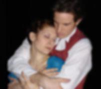 Matthew Waterson as William Wordsworth and Rachel McKinney as Dorothy Wordsworth in Grasmere. Written by Kristina Leach. Directed by Noel Neeb.
