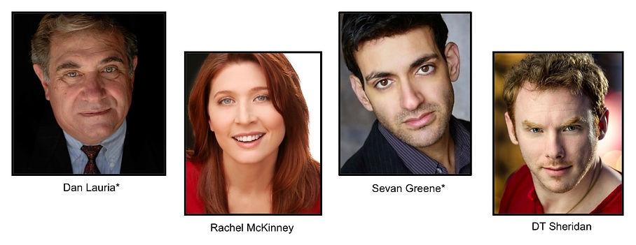 The Englishg Bride written by Lucille Lichtblau and directed by Noel Neeb. Cast: Dan Lauria, Rachel McKinney, Sevan Greene, DT Sheridan
