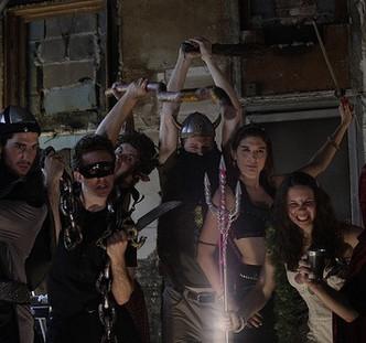 Heroes and Monsters. Cast: Ben Broad, Josh Odsess-Rubin, Ben Leasure, Sean Loftus, Rachel McKinney, Frank Campanella, Samantha Shane.