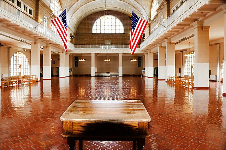 Ellis Island Registry Desk