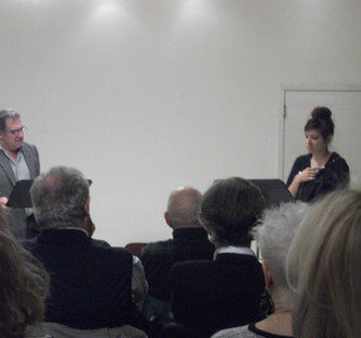 RoaN Productions' Reading Series. Play: The English Bride. Director: Noel Neeb. Playwright: Lucille Lichtblau. Cast: Dan Lauria & Rachel McKinney