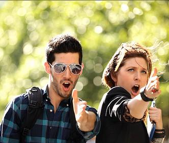 Heroes and Monsters. Cast: Ben Broad & Rachel McKinney