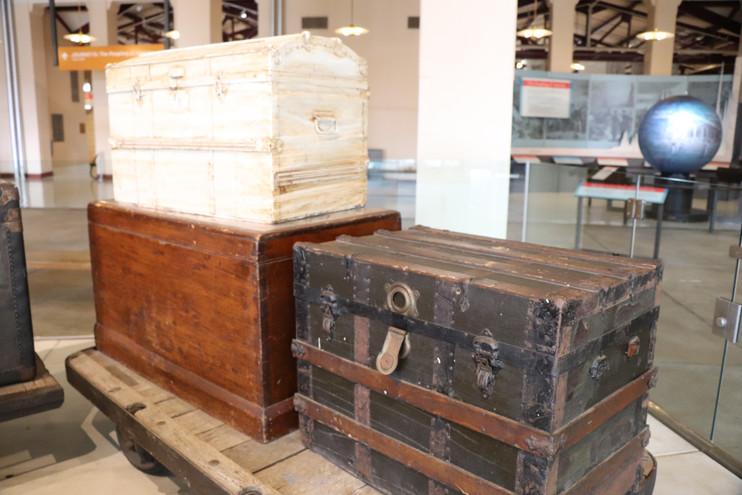 Ellis Island Baggage Room