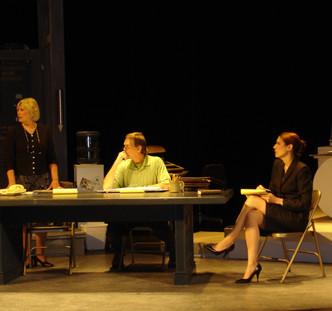 Other People's Money, directed by Michael Licata. Cast & Crew: Randy Lawson & Rachel McKinney