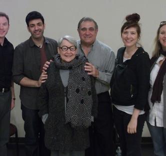 RoaN Productions' Reading Series. Play: The English Bride. Director: Noel Neeb. Playwright: Lucille Lichtblau. Cast: Dan Lauria, Rachel McKinney, Sevan Greene, DT Sheridan