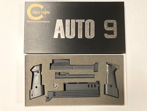 Creation M93R Auto 9 Conversion Kit for KSC M93R-II System 7 Ver (BK)