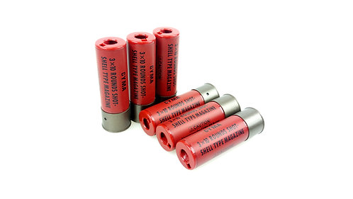 CYMA Shotgun Shells 6 pcs set for CYMA M870 Series