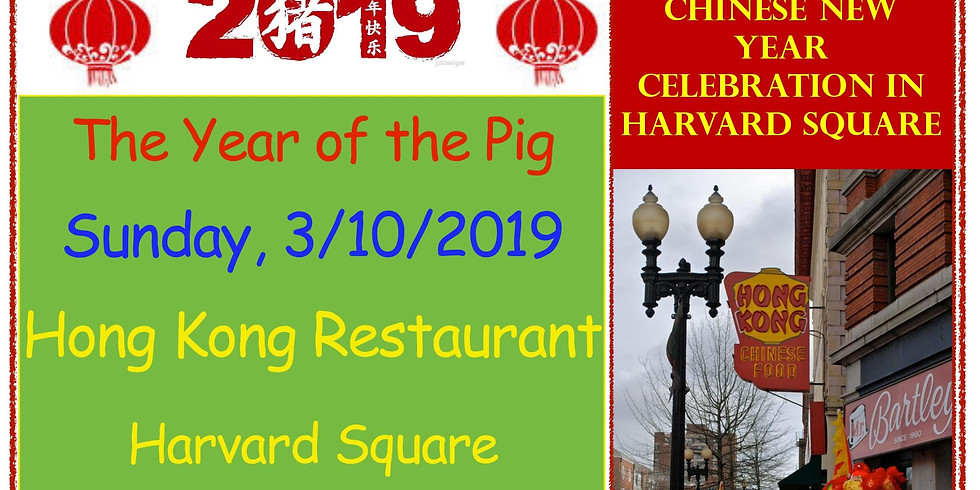 Chinese New Year Celebration in Harvard Square