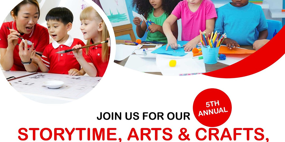 Storytime, Arts & Crafts, and Snacks