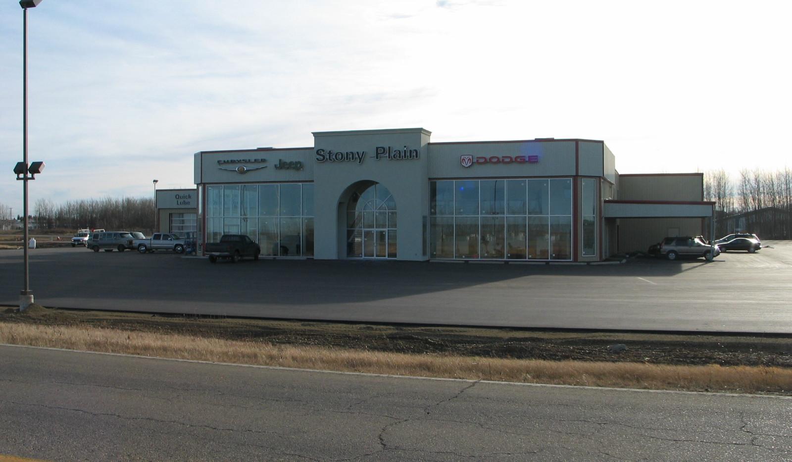 Stony Plain Chrysler