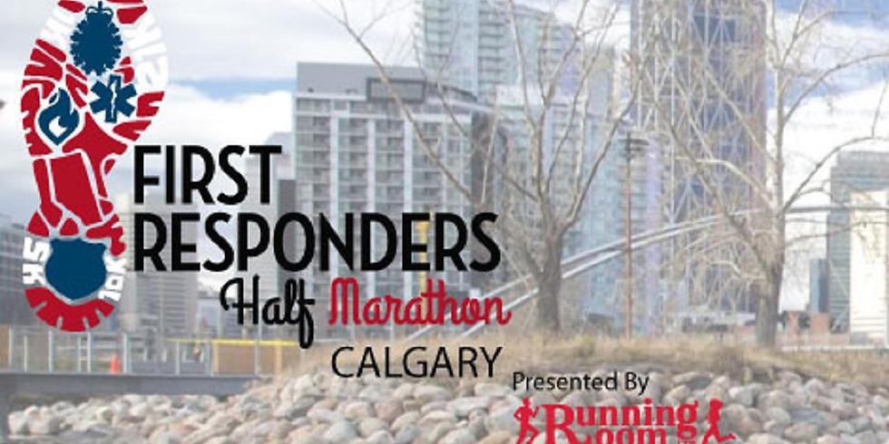 First Responder Half Marathon – Calgary (Postponed)