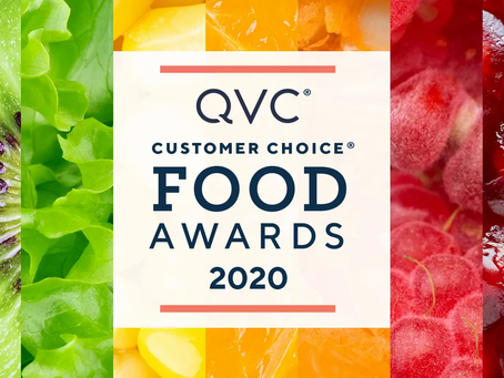 On Air Sales & Marketing Shines Again w/ Multiple QVC 2020 Customer Choice Food Award Nominations!