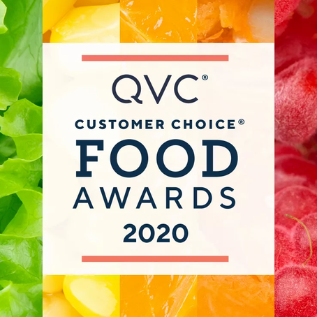 On Air Sales & Marketing Shines Again w/ Multiple QVC 2020 Customer Choice Food Award Nominations!