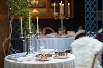détail salle restaurant