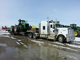 La Crete prairie wind heavy haul truck and trailer services.