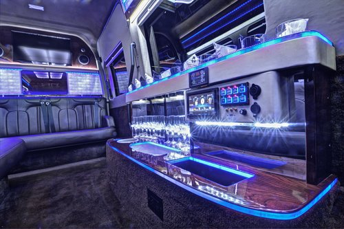 Sprinter+Limo+interior